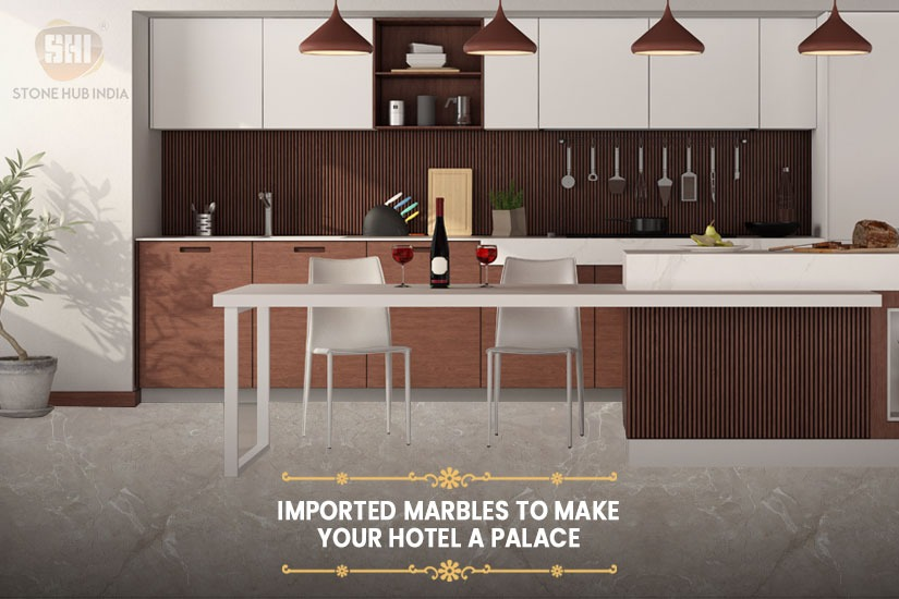 Imported Marbles To Make Your Hotel A Palace